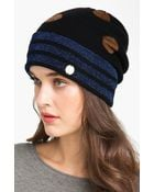 Marc By Marc Jacobs Clara Dot Sweater Cap - Lyst