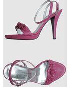 Donatella Lucchi Platform Sandals - Lyst