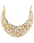 Kate Spade Kaleidoball Encrusted Statement Necklace - Lyst