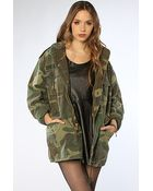 Rothco The Woodland Camo Vintage M-65 Field Jacket - Lyst