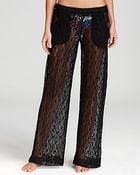 Trina Turk Boho Crochet Coverup Pants - Lyst