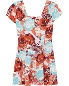 Thakoon Addition Printed Cotton Mini Dress - Lyst