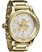 Nixon The 5130 Chrono Watch - Lyst
