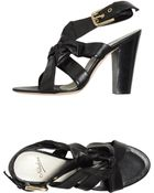 Nebuloni Highheeled Sandals - Lyst