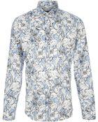 Gucci Floral Print Shirt - Lyst