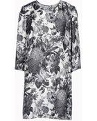 Stella McCartney  Toile De Jouy Print Anemone Dress - Lyst