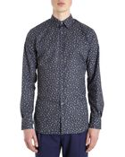 Paul Smith Floral Shirt - Lyst