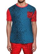 Originals x Opening Ceremony Leopard Printed Jersey Tshirt - Lyst