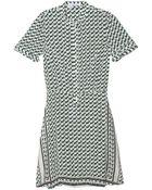 10 Crosby Derek Lam Printed Dress - Lyst