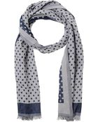 Hackett Oblong Scarf - Lyst