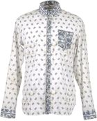 Balmain Long Sleeve Shirt - Lyst
