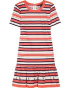 Marc By Marc Jacobs Flavin Striped Stretchcotton Mini Dress - Lyst