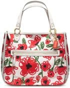Coach Poppy Floral Print Hallie Tote - Lyst