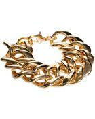 Asos Gogo Philip Classic Chunky Chain Bracelet - Lyst