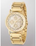 DKNY Goldplated Stainless Steel Watch - Lyst