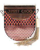 Jimmy Choo Milla Shoulder Bag - Lyst