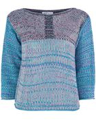 See By Chloé Chunky Knit Pullover - Lyst