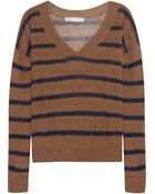 Kain Nell Striped Linen-blend Sweater - Lyst