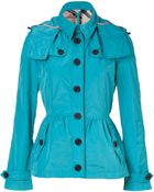 Burberry Brit Cobalt Turquoise Fordleigh Jacket - Lyst