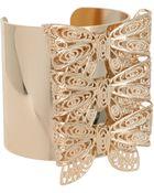 Asos Bow Cuff Bracelet - Lyst