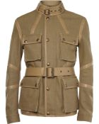 Belstaff Nottington Canvas and Leather Jacket - Lyst