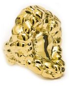 Tosca Petrified Golden Flower Ring - Lyst