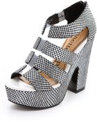 Nanette Lepore Addicted To You Platform Sandals - Lyst