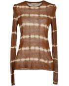 Michael Kors Long Sleeve Sweater - Lyst