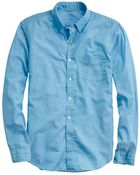 J.Crew Lightweight Chambray Shirt - Lyst