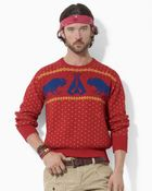 Ralph Lauren Polo Long-Sleeved Bison Crewneck Sweater - Lyst