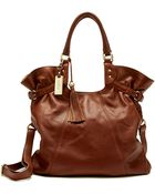 Lucky Brand Dover Leather Hobo Bag - Lyst