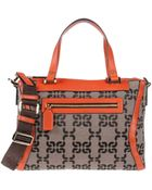Coccinelle Medium Fabric Bags - Lyst