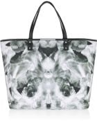 McQ by Alexander McQueen Printed Cottoncanvas Shopper - Lyst