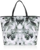 McQ by Alexander McQueen Printed Cottoncanvas Shopper - Lyst