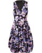 McQ by Alexander McQueen Iris Printed Cottonblend Twill Dress - Lyst