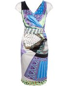 Etro Printed Dress - Lyst