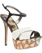 Sam Edelman Mason Ankle Strap Sandals - Lyst