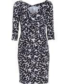 Diane von Furstenberg Bentley Three Quarters Dress - Lyst