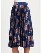 Tucker Pleated Skirt - Lyst