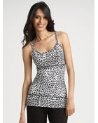 Yummie By Heather Thomson Leopardprint Undercover Tank Top - Lyst