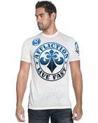 Affliction Short Sleeve Crew Neck T Shirt - Lyst