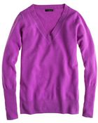J.Crew Collection Cashmere Vneck Sweater - Lyst