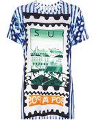 Mary Katrantzou Colma Printed Tshirt - Lyst