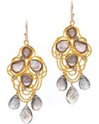 Alexis Bittar Lace Labradorite Earrings - Lyst