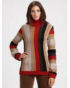 Chloé Wool Turtleneck Sweater - Lyst