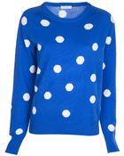 Equipment Polka Dot Sweater - Lyst