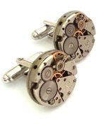 Lc Collection Vintage Watch Movements Cufflinks - Steampunk - Lyst