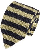 Rag & Bone Balanced Stripe Knit Tie - Lyst