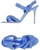 Manolo Blahnik High-Heeled Sandals - Lyst