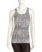 Yummie By Heather Thomson Joelle Leopard Print Tank - Lyst